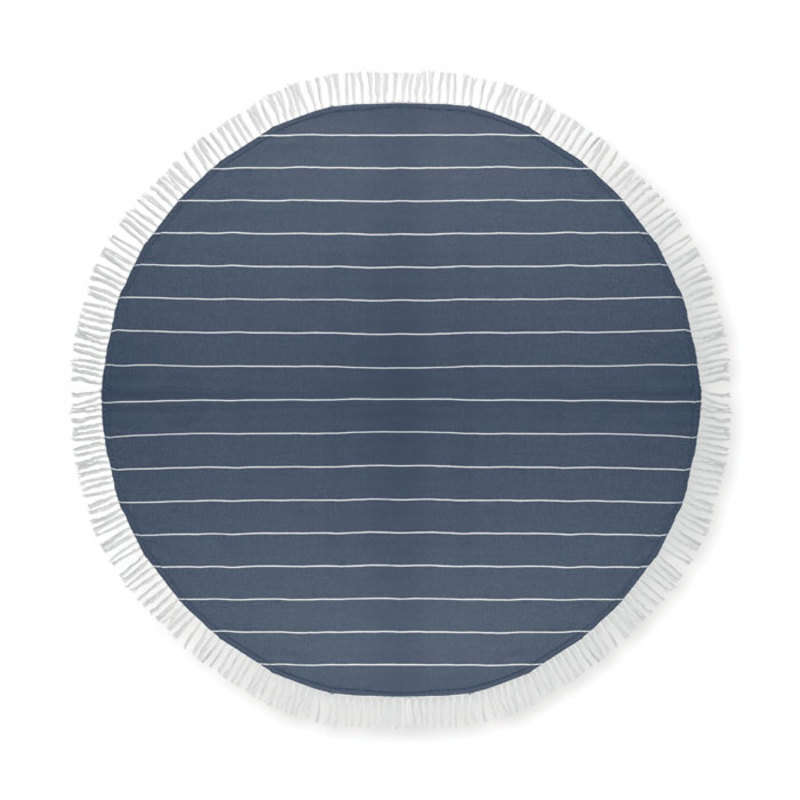 Round beach towel cotton