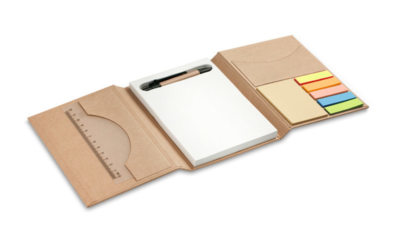 Foldable notebook TRIPLO