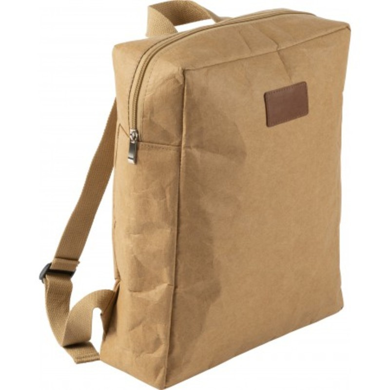 Laminated paper backpack