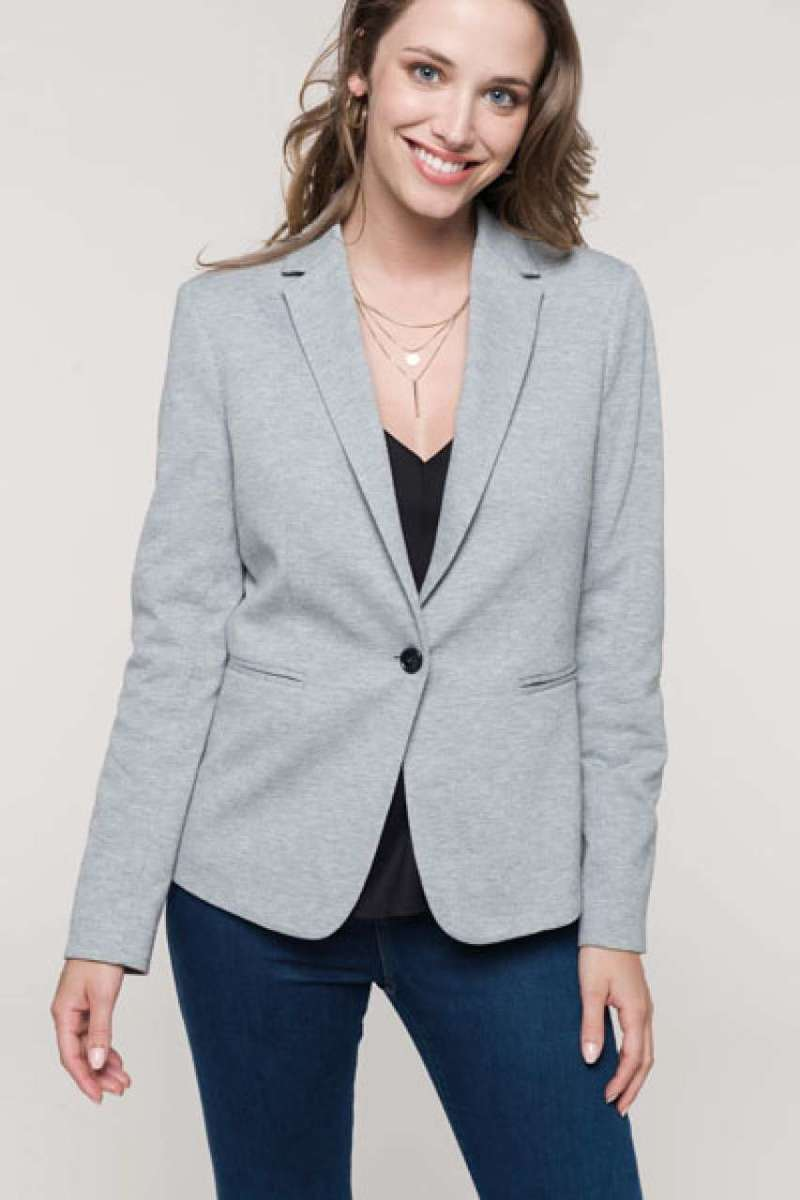 LADIES' KNIT JACKET