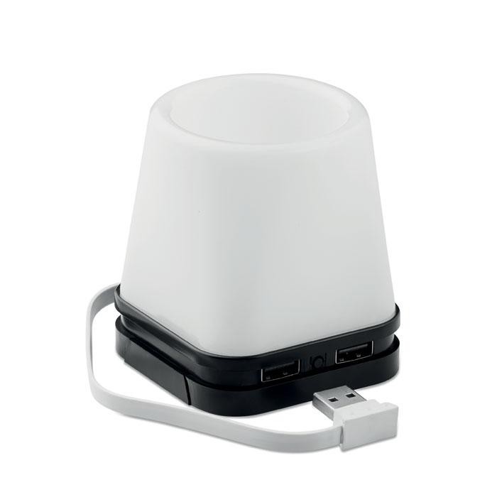 USB hub penholder