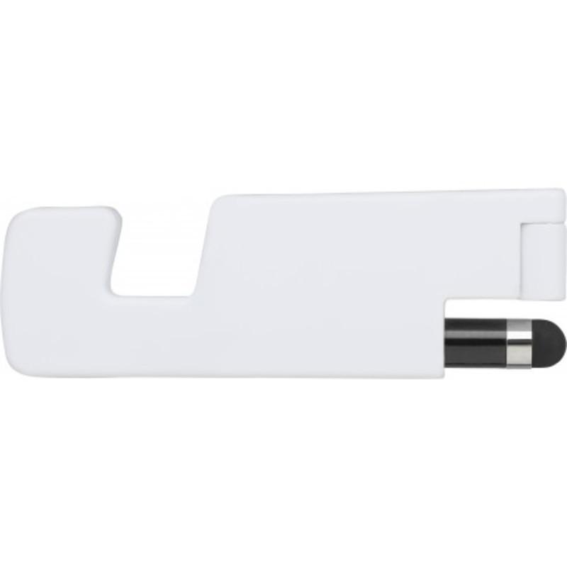 Plastic foldable mobile phone holder