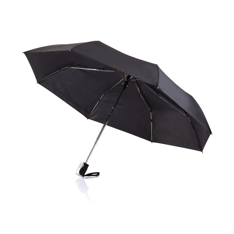 "Deluxe 21,5"" 2 in 1 auto open/close umbrella"