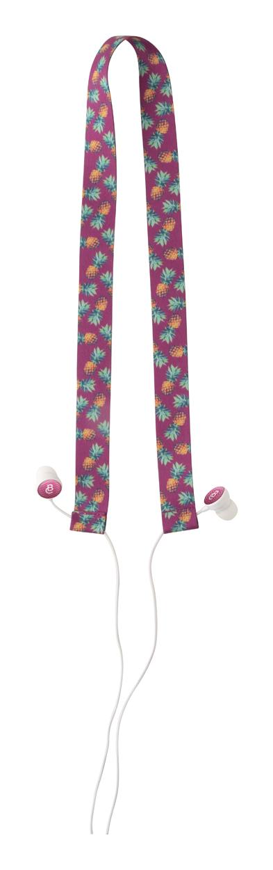 Subobass RPET earphones lanyard