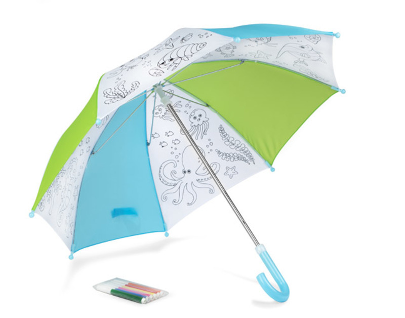 Colouring umbrella KIDDI