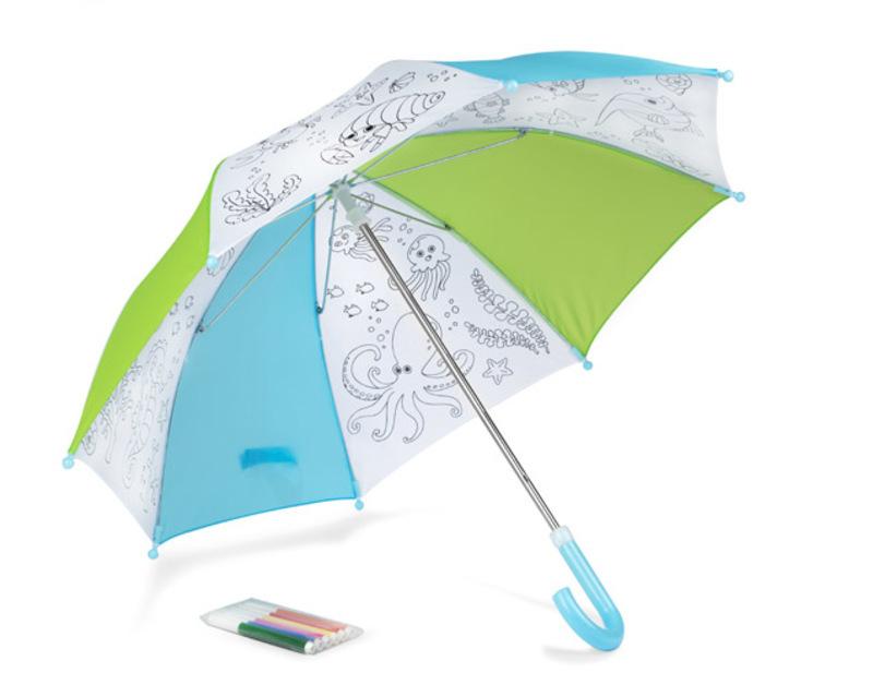 Colouring umbrella KIDDI