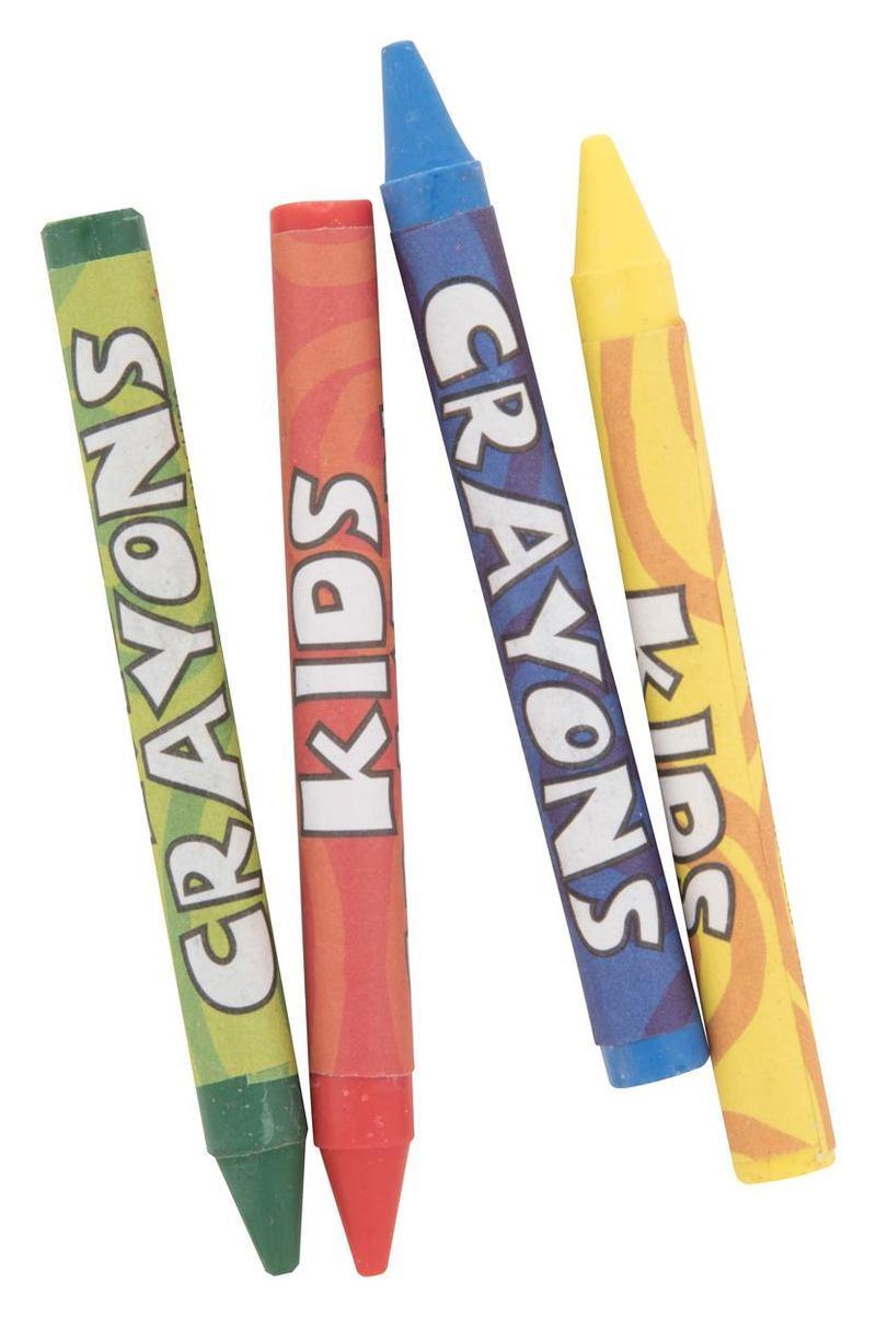 Freddy 4 pc crayon set