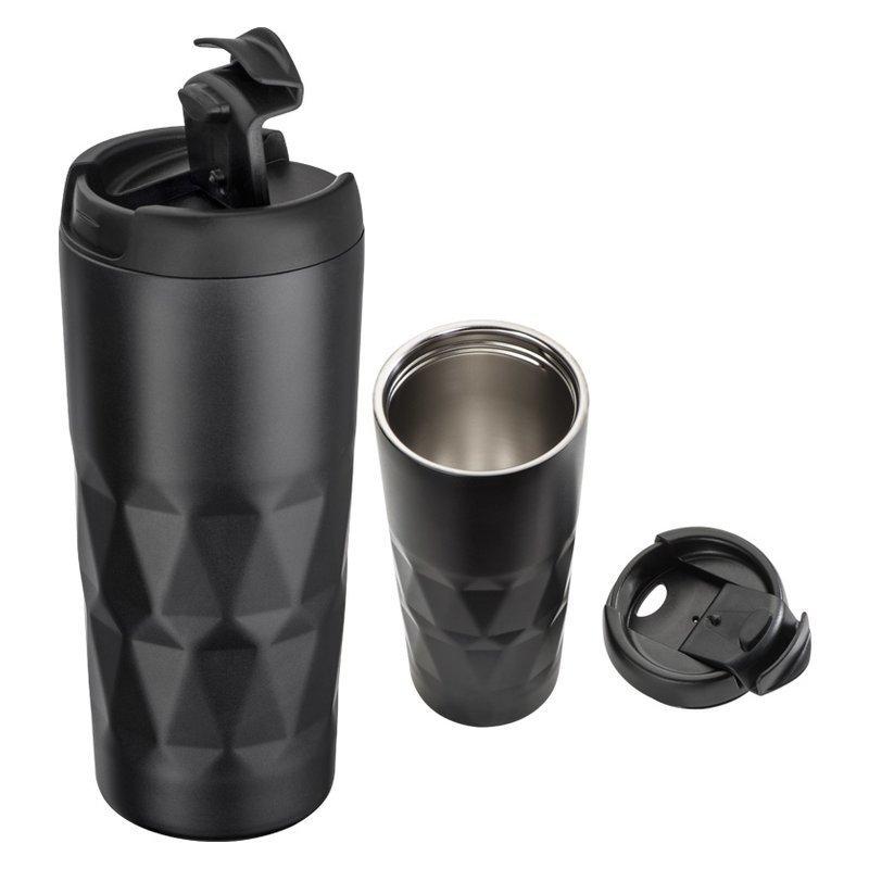 Stainless steel mug Como