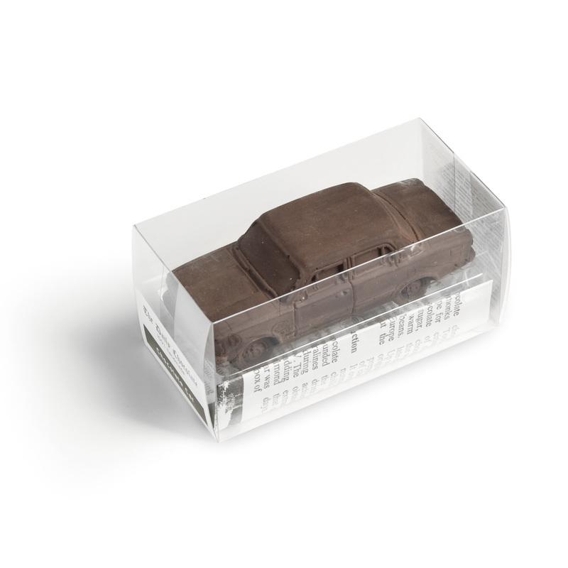 Youngtimer chocolate car