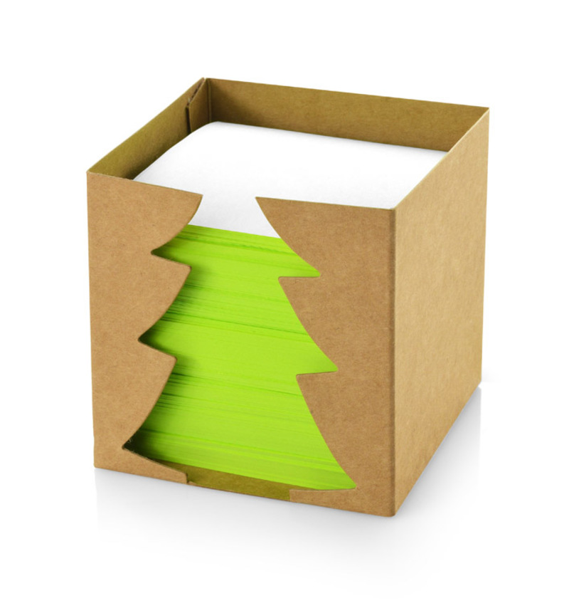 Notepad in a Christmas box