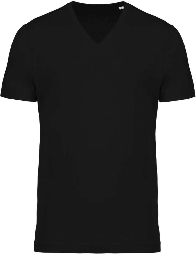MEN'S ORGANIC COTTON V-NECK T-SHIRT