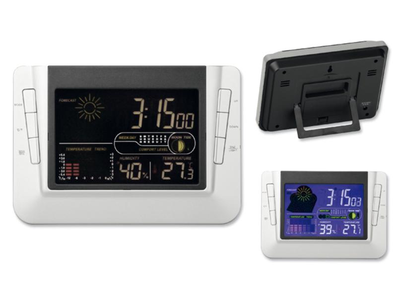 RENNY weather station, Satin silver