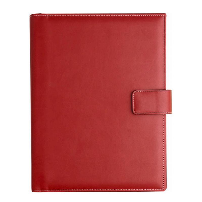 Agenda de lux Capri Rosso, saptamanala 27 x 33 cm