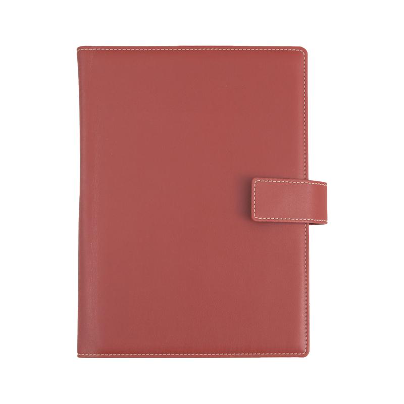 Agenda de lux Freeport Rosso Inglesse, 15 x 21 cm