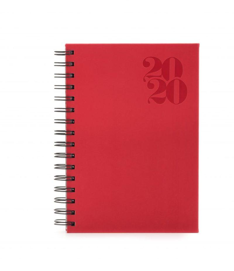 Agenda 373 TUCSON , zilnica 15×21 - rosu coral