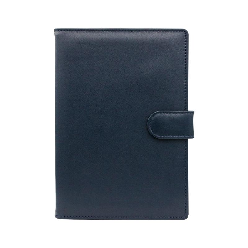 Agenda din piele Texas Blu, 15 x 21 cm