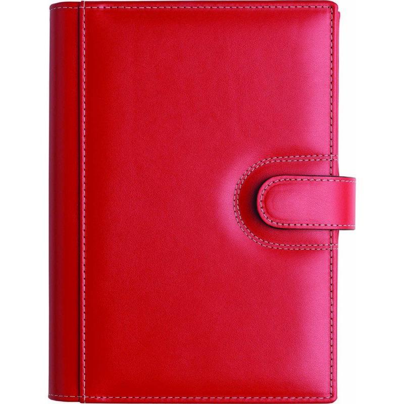 CAG1884 - Agenda din piele ELBA 17x24cm - rosie