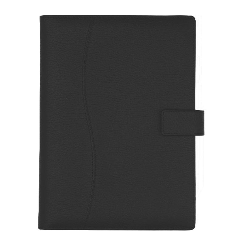 Agenda din piele Black, 17 x 24 cm