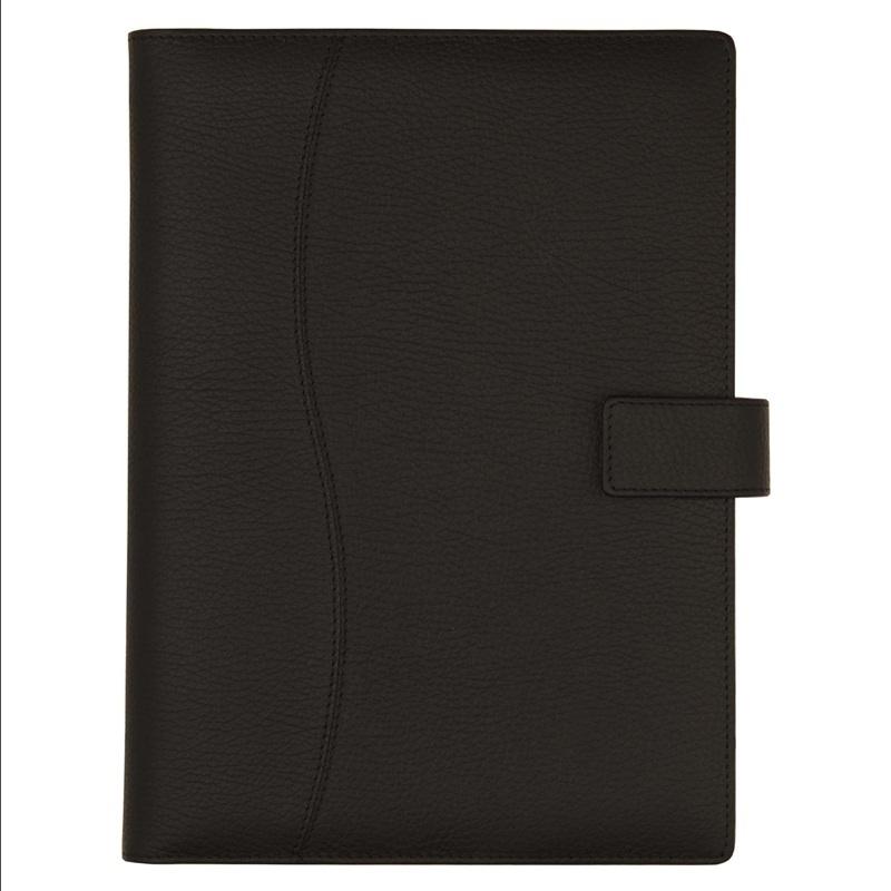 NGD753 - Agenda din piele BLACK, 17x24cm