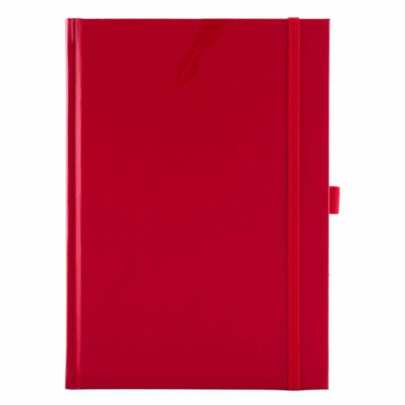 Agenda cu elastic 459 MATRA, nedatata 15×21 - rosie