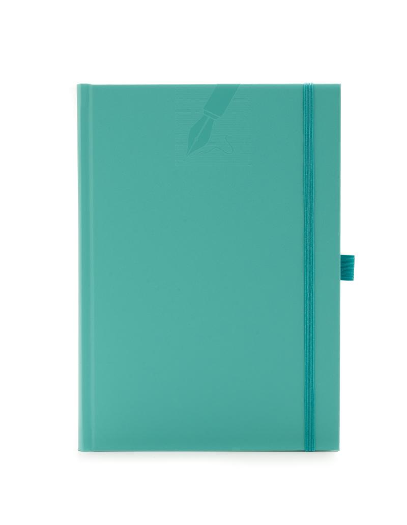 Agenda cu elastic 459 MATRA, nedatata 15×21 - verde aqua