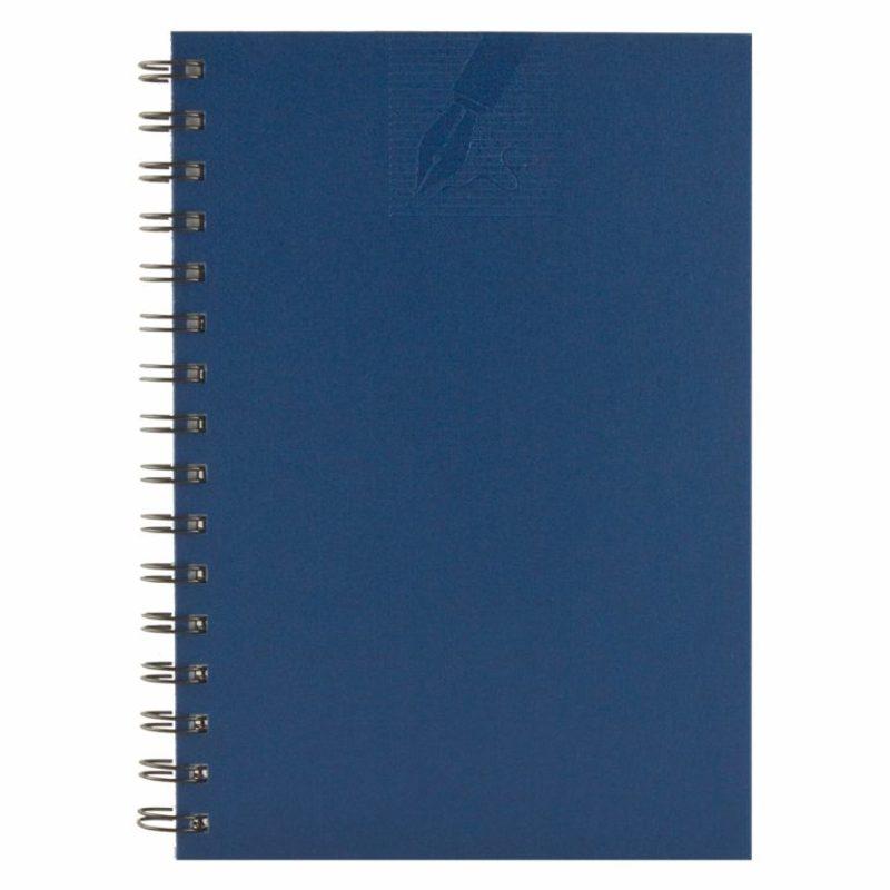 Agenda cu spira 479 MATRA, nedatata 15×21 - albastra