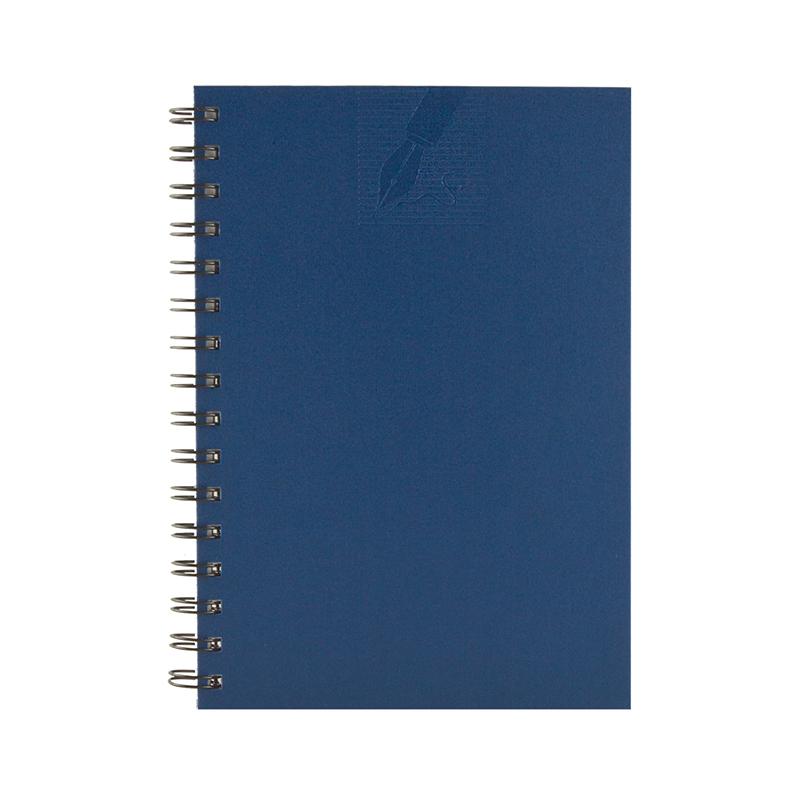Agenda cu spira 479 MATRA BLU, nedatata 15×21 cm
