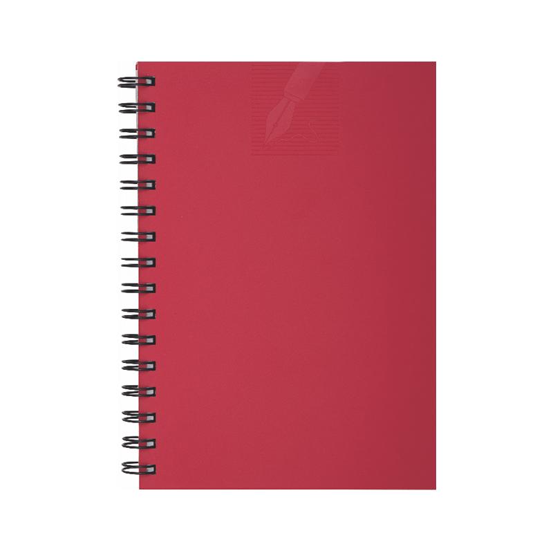 Agenda cu spira 479 MATRA ROSU, nedatata, 15×21 cm