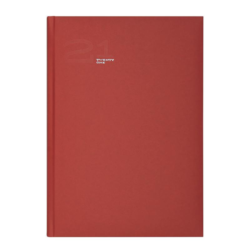 Agenda 410 MATRA ROSSO, saptamanala, 17X24 cm