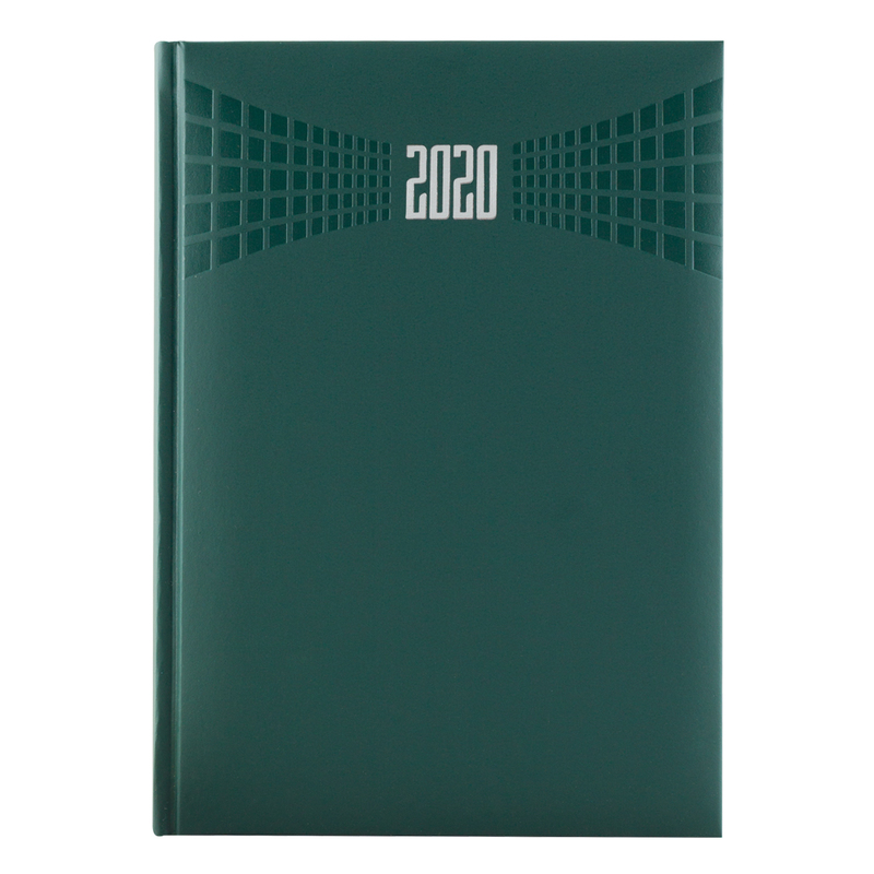 Agenda 410 MATRA, saptamanala 17X24 - verde