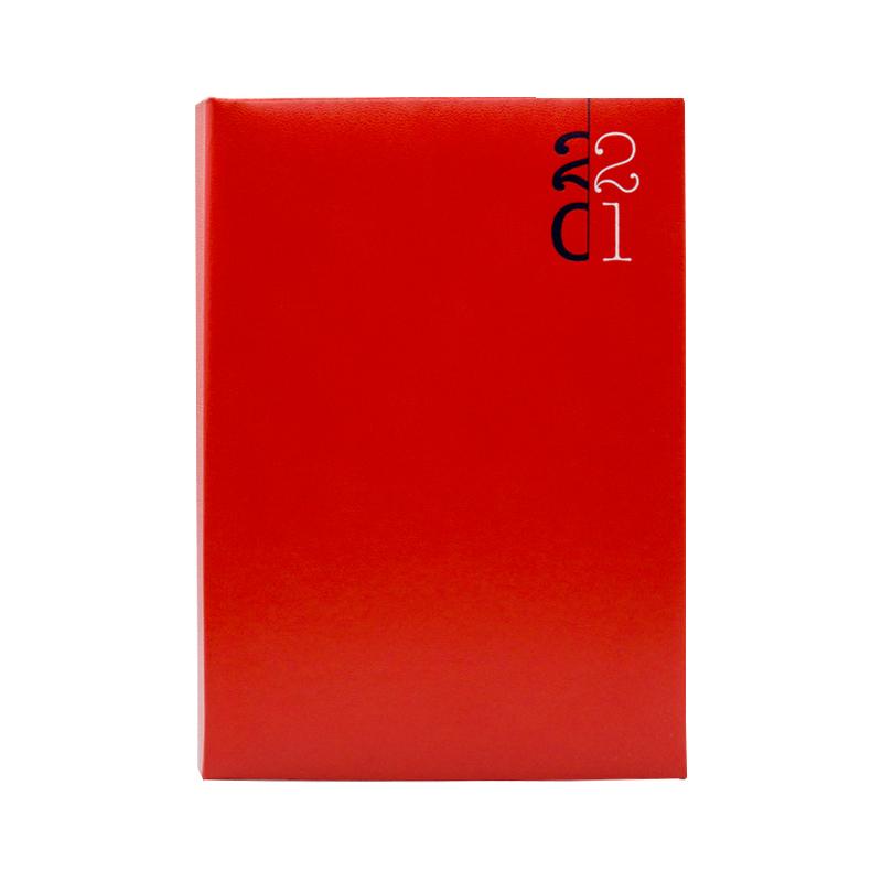 Agenda 460 Paros Rosso, zilnica 15 x 21 cm