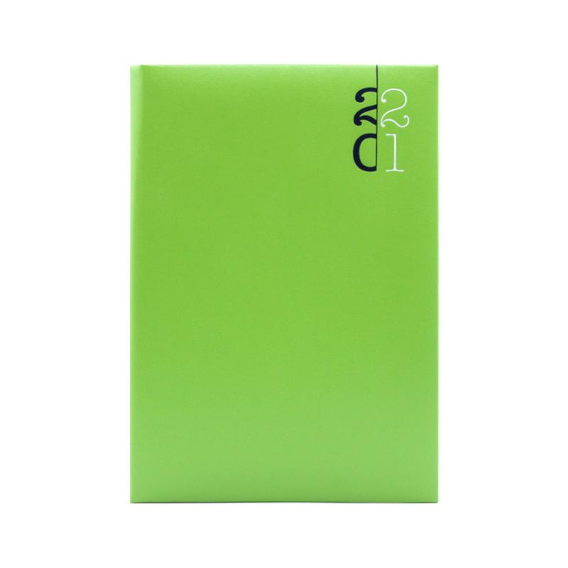 Agenda 460 Paros Verde, zilnica 15 x 21 cm