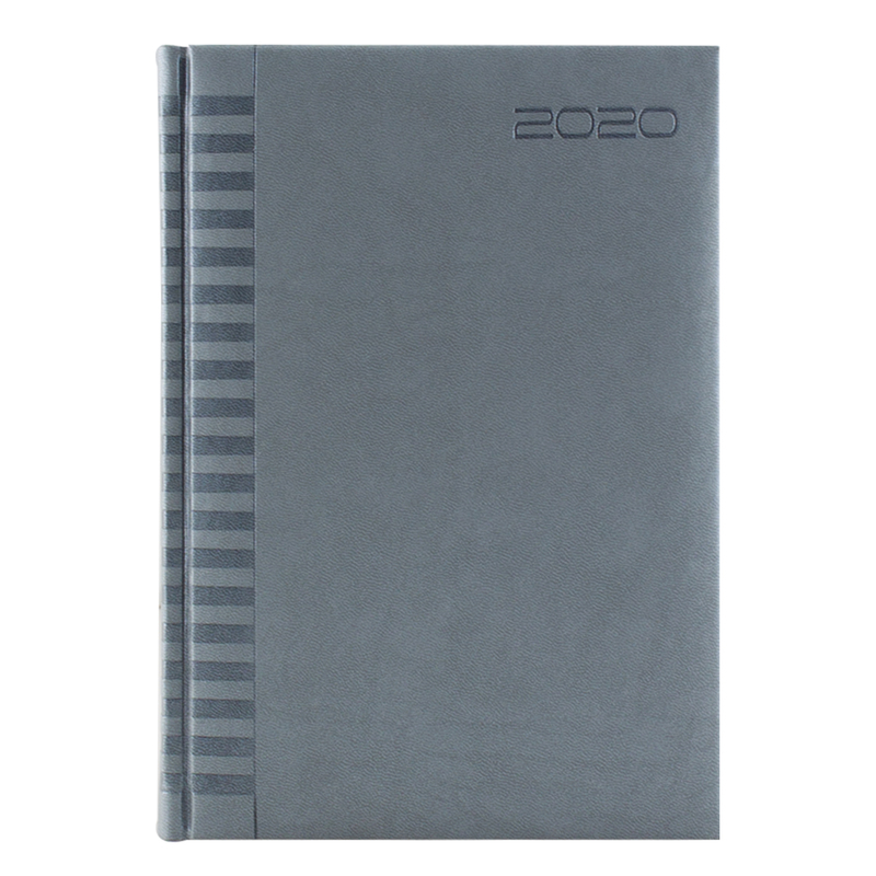 Agenda 410 BRISTOL, saptamanala 17X24 - argintiu