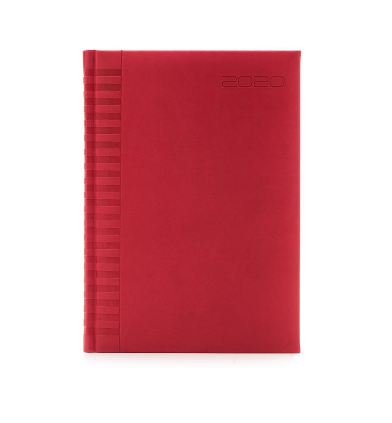 Agenda 457 BRISTOL, zilnica,17X24 - coral