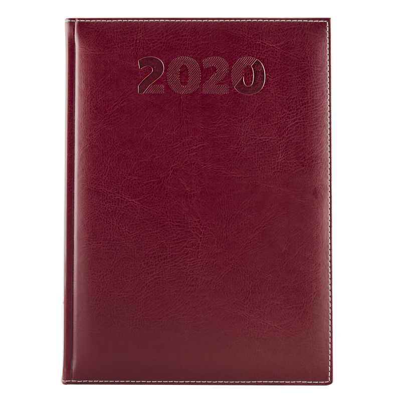 Agenda 457 SHERWOOD, zilnica 17X24 - rubiniu (amaranto)