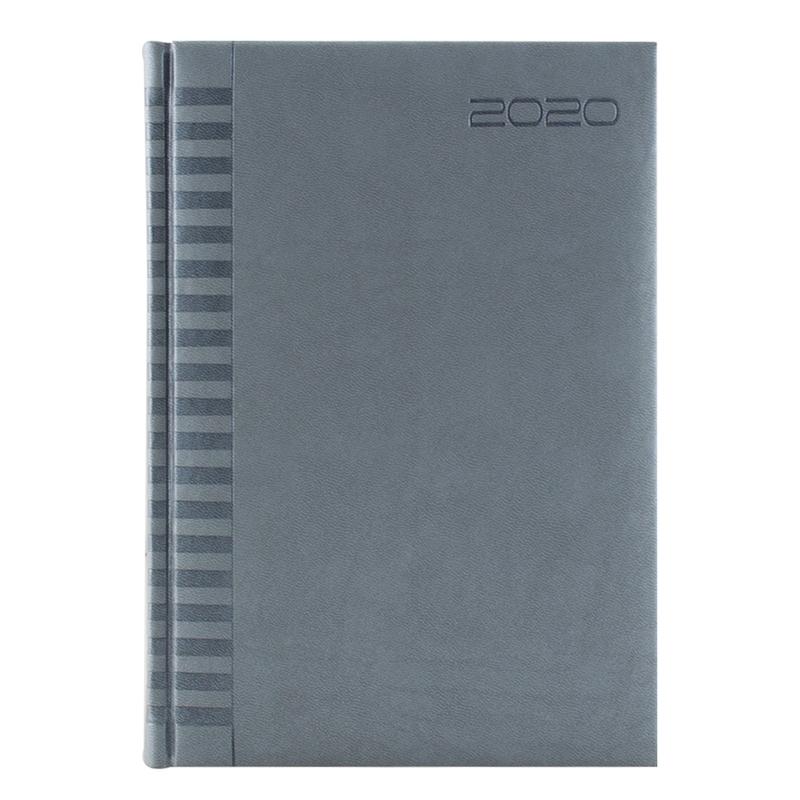 Agenda 460 BRISTOL, zilnica 15×21 - argintie