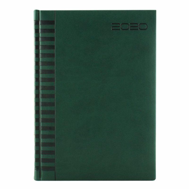 Agenda 460 BRISTOL, zilnica 15×21 - verde