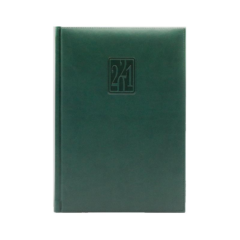 Agenda 460 Bristol Verde, zilnica 15 x 21 cm