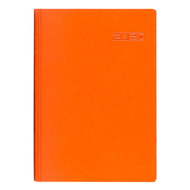 Agenda 460 SANTIAGO, zilnica 15X21 - portocalie
