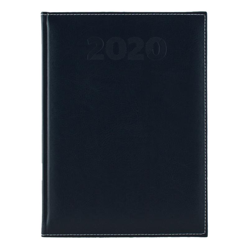 Agenda 460 SHERWOOD, zilnica 15X21 - albastru