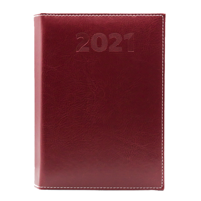 Agenda 477 Sherwood Amaranto, saptamanala 19.7 x 26.5 cm