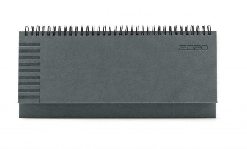 Agenda planner 430 BRISTOL, saptamanala 10.5×29.8 - argintiu