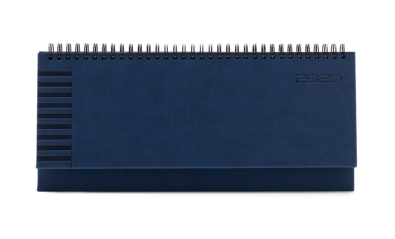 Agenda planner 430 BRISTOL, saptamanala 10.5×29.8 - albastra