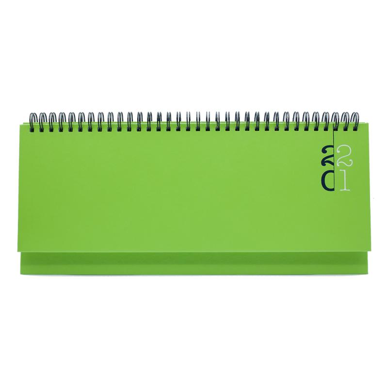 Planner 430 Paros Verde deschis, saptamanala 10.5 x 29.8 cm