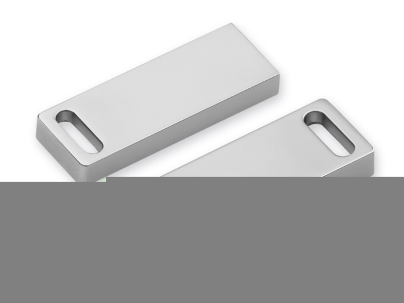 USB FLASH 52 metal USB FLASH 4 GB supporting interface 2.0, Satin silver