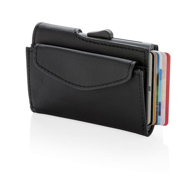 C-Secure RFID cardholder & coin/key wallet