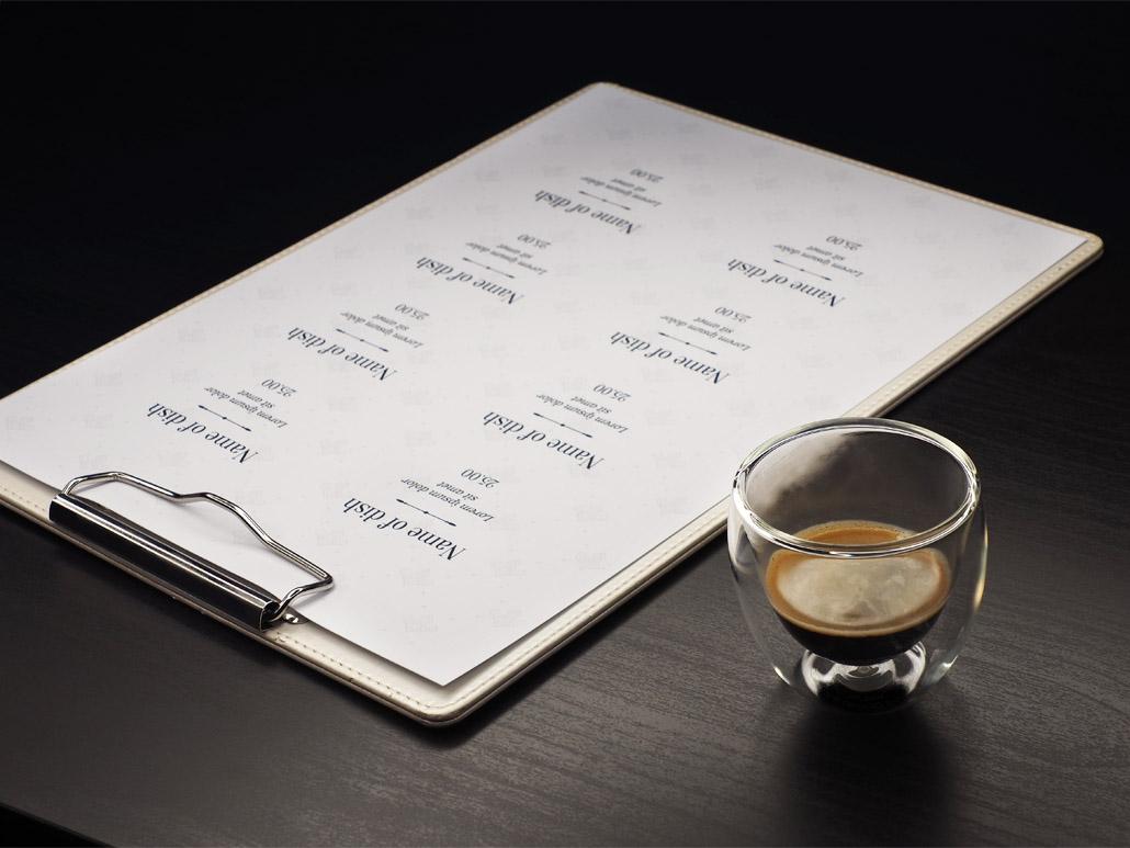 Clipboard menu