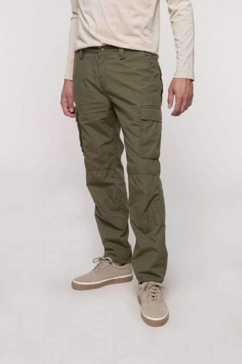 MEN'S LIGHTWEIGHT MULTIPOCKET TROUSERS