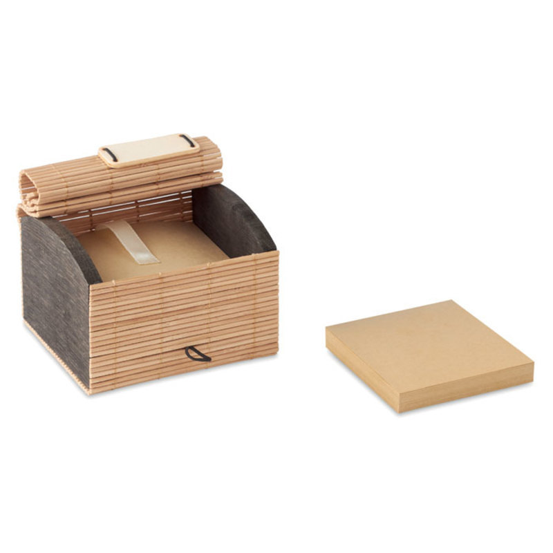Bamboo desk notepad 500 sheets
