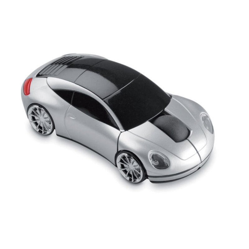 Wireless mouse in car shape